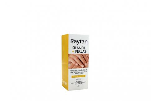 Crema Para Manos Raytan Sinalol + Perlas Caja Con Frasco Con 60 mL