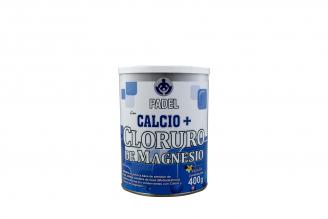 Calcio + Cloruro De Magnesio Sabor Vainilla Tarro Con 400 g