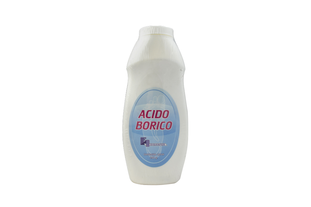 Talquera De Ácido Bórico Frasco con 250 g