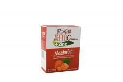 Vical Vitamina C + Zinc 1000 mg Caja Con 10 Sobres – Sabor Mandarina