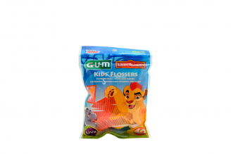 Seda Dental Flosser Gum Lion Empaque Con 40 Unidades