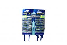 Máquina Para Afeitar Gillette Prestobarba Ultragrip Pivot Empaque Con 24 Unidades