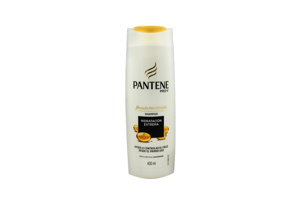 Shampoo Pantene Hidro-Cauterizacion Frasco Con 400 mL