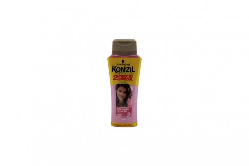 Shampoo + Crema Para Peinar Konzil 2 Frasco Con 200 mL + 230 mL