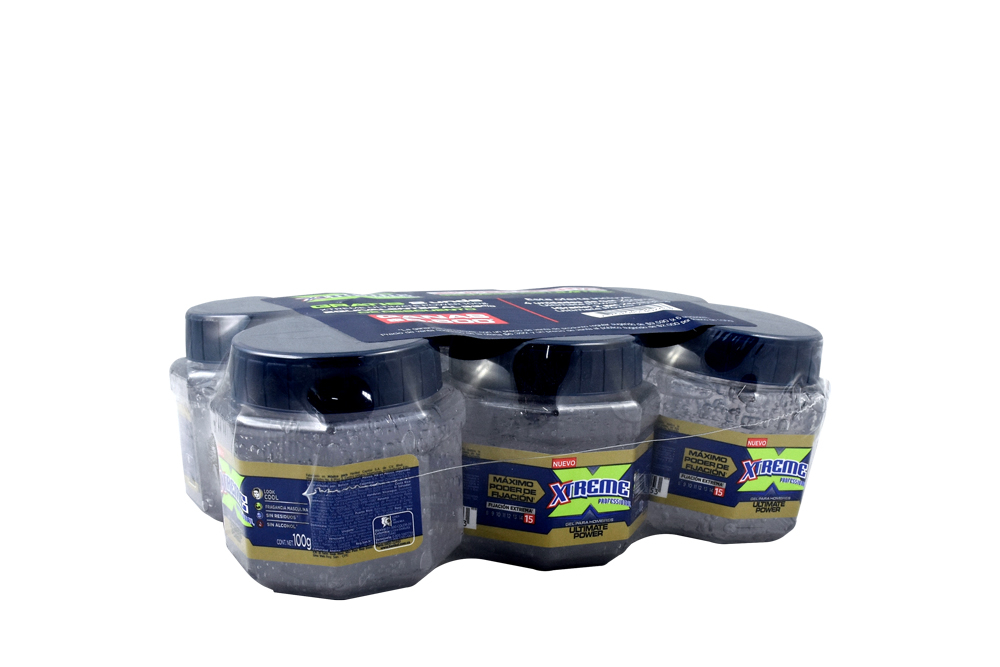 Gel Xtreme Ultimate Power Frasco Con 100 g - Pague 4 Lleve 6
