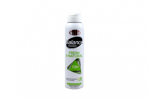 Desodorante Balance Women Fresh & Natural Frasco Con 160 mL