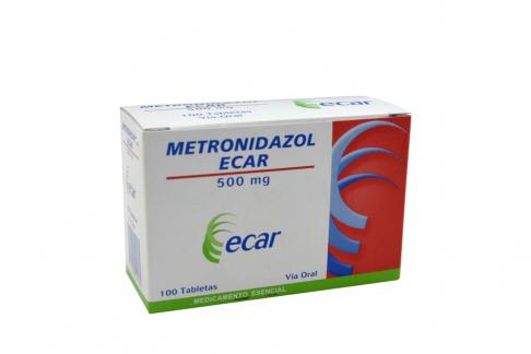 Metronidazol 500 Mg Caja Con 100 Tabletas Rx Rx2
