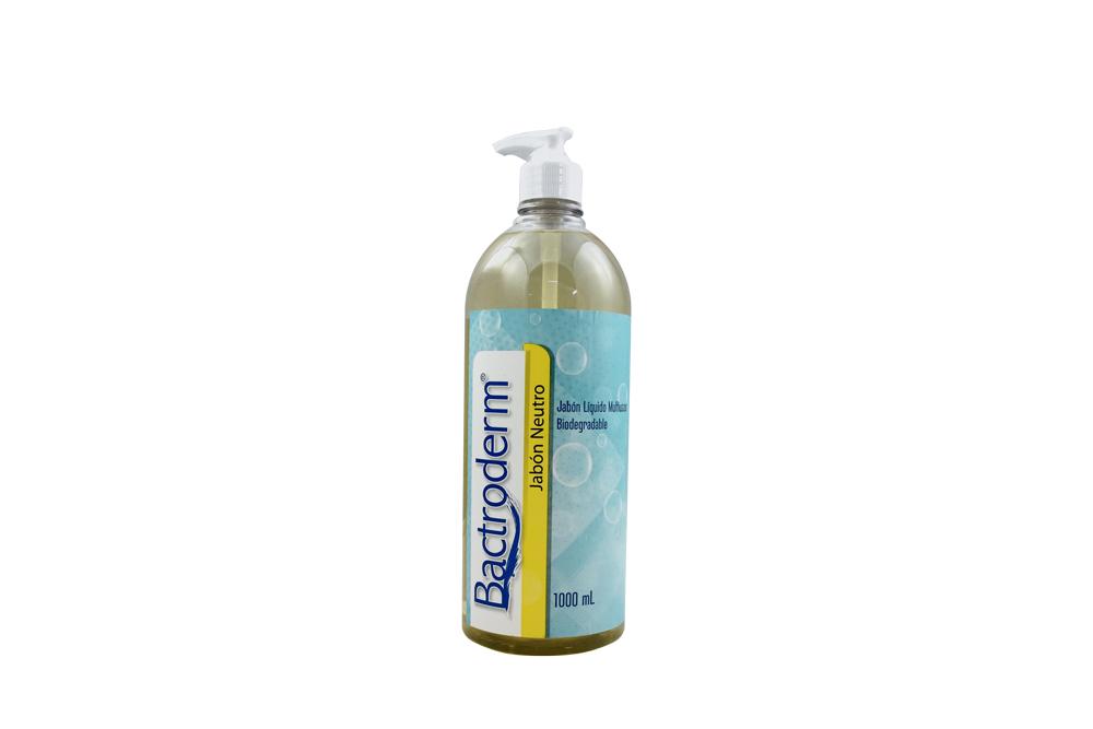 Bactroderm Jabón Neutro Frasco Con 1000 mL