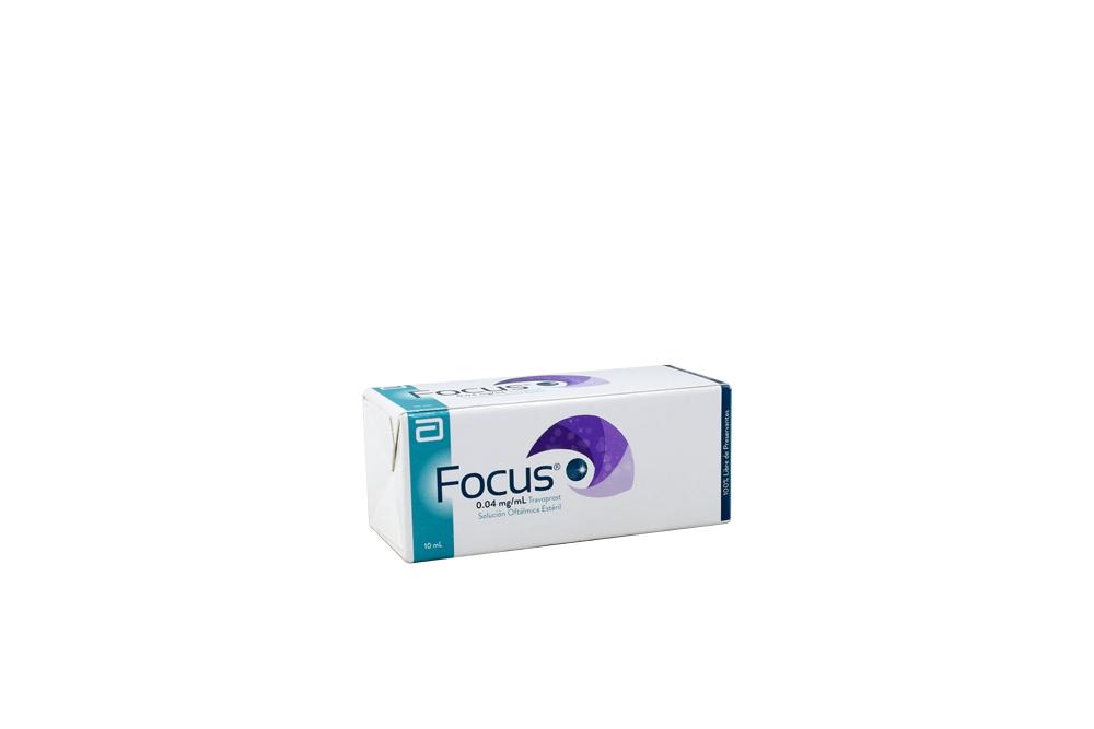 Focus 0,04 Mg / mL Caja Con 1 Frasco Con 10 mL Rx