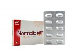 Normolip Nf 45 Mg Caja Con 10 Cápsulas Rx