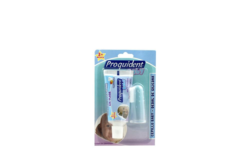 Cepillo Dental Silicona Bebé Empaque Con 1 Unidad
