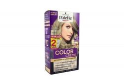 Kit Tinte Permanente Palette Schwarzkopf Tono 9-1 Rubio Extra Claro Cenizo