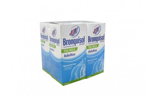 Bronquisol Jarabe JGB Caja Con Frasco Con 120 mL