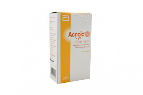 Acnoic Plus Caja Con Tubo Con 30 g Rx Rx2