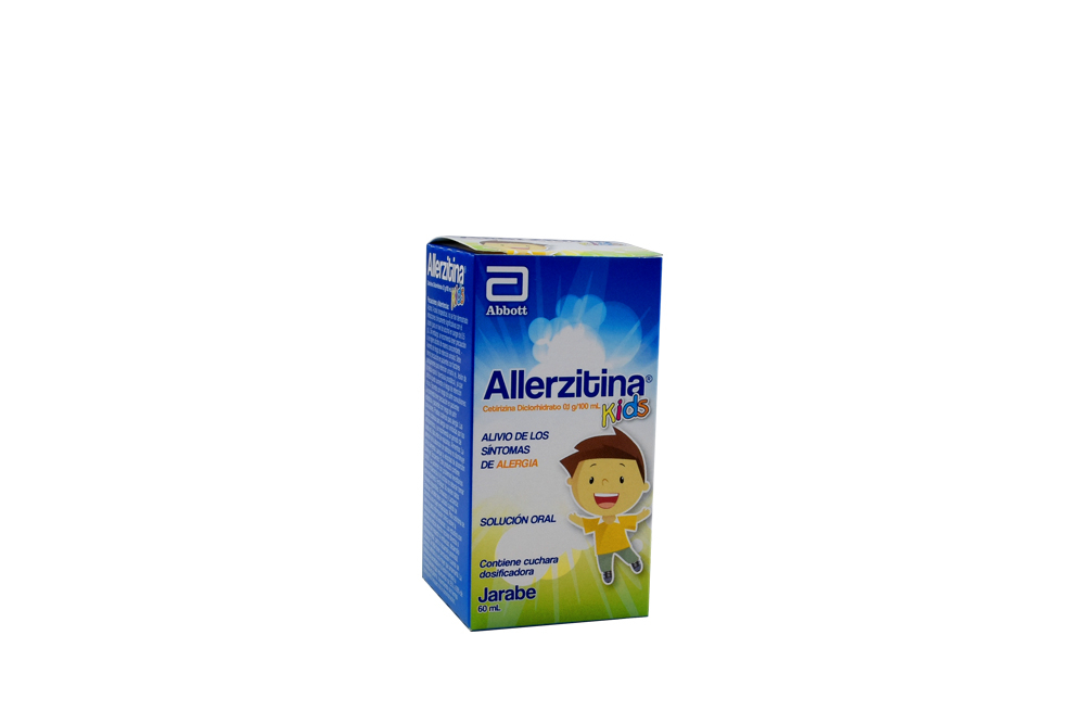 Allerzitina Kids Solución Oral Caja Con Frasco Con 60 mL