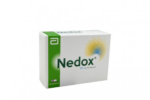 Nedox 20 Mg Caja Con 28 Cápsulas Rx
