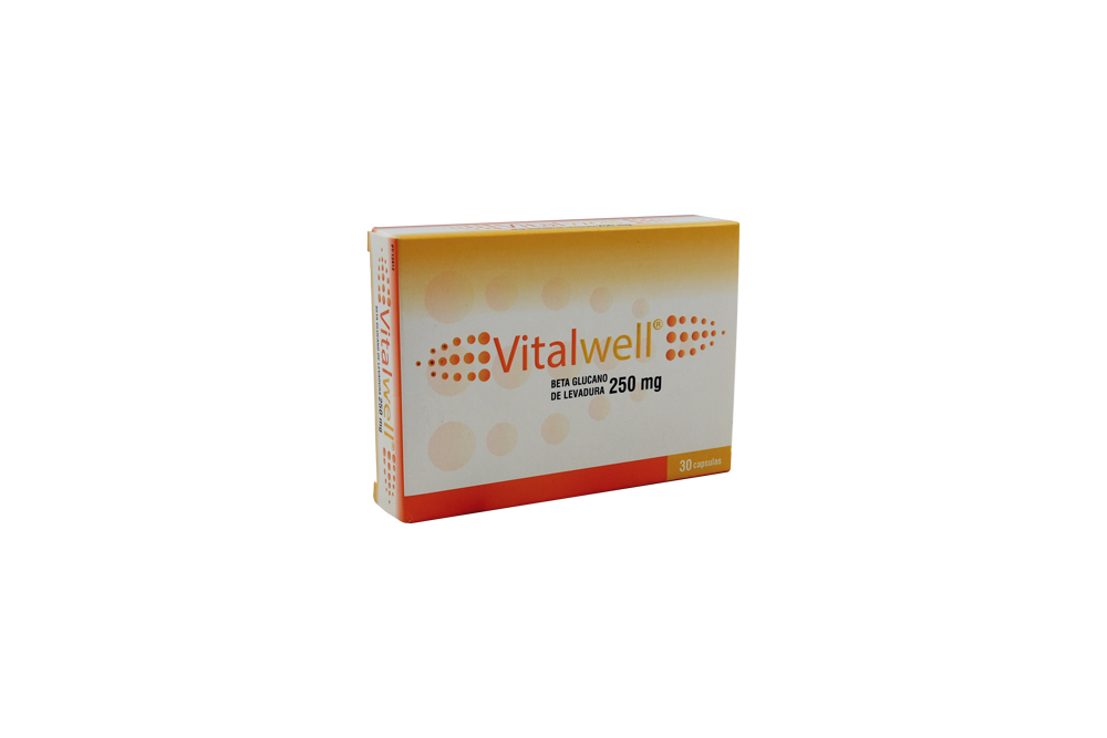 Vitalwell Betaglucano de Levadura Caja Con 30 Cápsulas