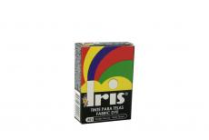 Iris Tinte Para Telas Caja Con Bolsa Con 9 g – Tono Número 21 Verde Oscuro