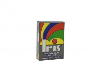 Iris Tinte Para Telas Caja Con Bolsa Con 9 g – Tono Número 23 Gris Claro