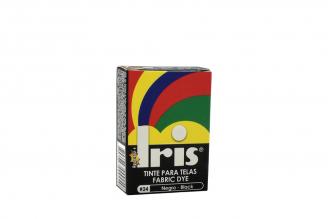 Iris Tinte Para Telas Caja Con Bolsa Con 9 g – Tono Número 24 Negro