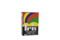 Iris Tinte Para Telas Caja Con Bolsa Con 9 g –  Tono Azul Índigo