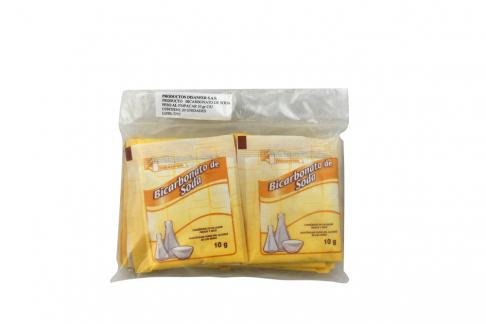 Bicarbonato De Sodio Disanfer Bolsa Con 20 Sobres Con 10 g C/U