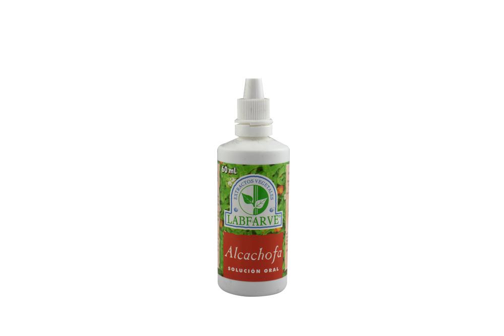 Extracto De Alcachofa Solución Oral Labfarve Frasco Con 60 mL