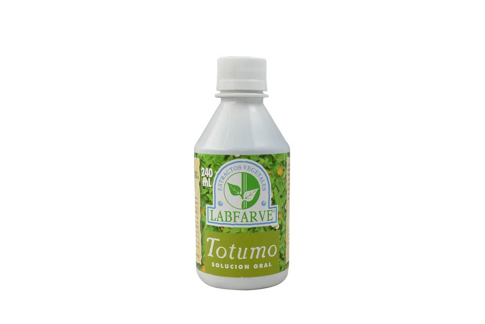 Totumo Solución Oral Labfarve Frasco Con 240 mL
