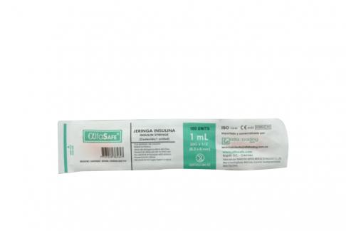 Jeringa Insulina Alfa 30 X 1 1 mL