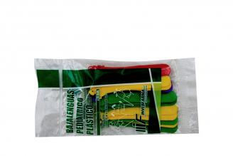 Bajalenguas De Plástico Pediátrico Bolsa Con 20 Unidades
