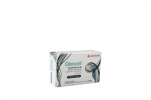 Glencet 5 Mg Caja Con 30 Tabletas Recubiertas