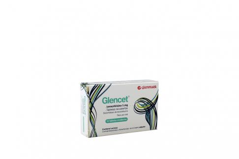 Glencet 5 Mg Caja Con 10 Tabletas Recubiertas