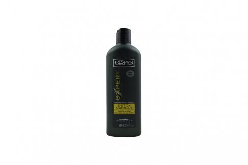 Shampoo TRESemmé Detox Capilar Frasco Con 400 mL