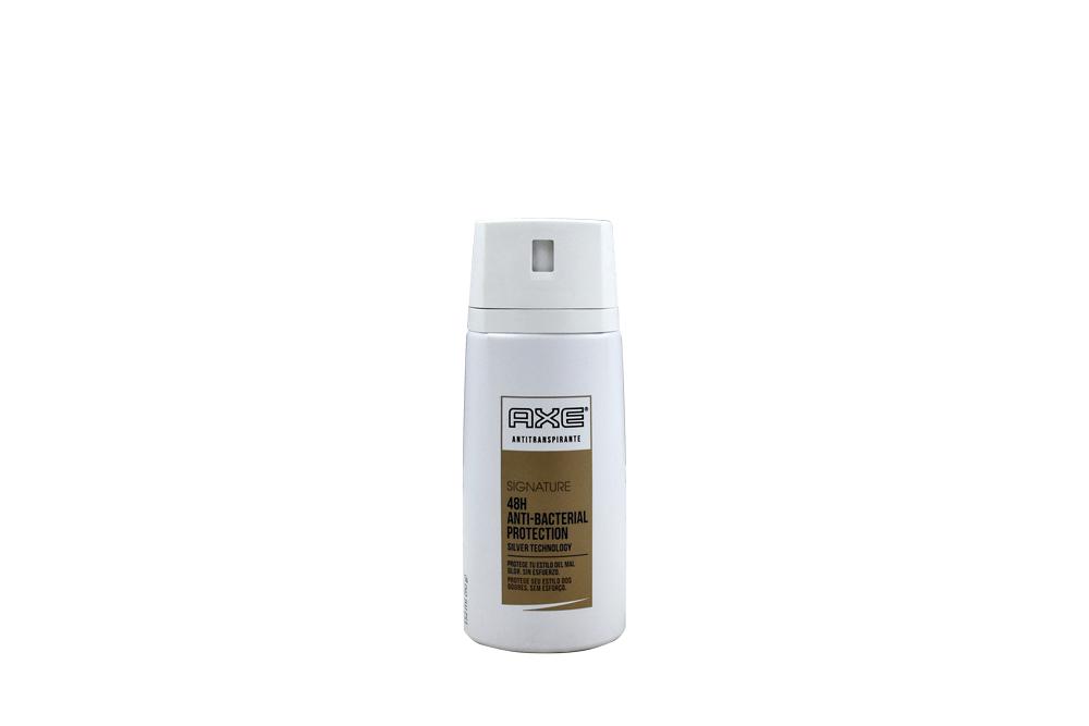 Desodorante Axe Signature Antibacterial Frasco Con 152 mL