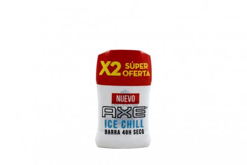 Desodorante Axe Ice Chill Seco Barra Con 50 g – Súper Oferta X 2