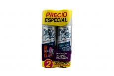 Desodorante Para Pies Deo Pies Clinical Empaque Con 2 Frascos Con 260 mL C/U