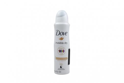 Desodorante Dove Invisible Dry Crema Humectante Aerosol Con 150 mL