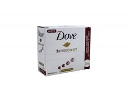 Desodorante Dove Dermo Aclarant Caja Con 10 Sachets Con 8.5 g C/U