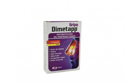 Dimetapp Gripa Caja Con 8 Cápsulas