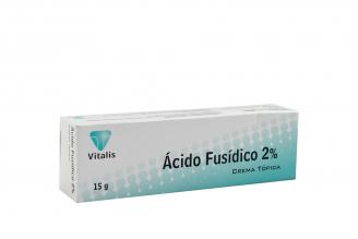 Ácido Fusídico Crema 2% Caja Con Tubo Con 15 g Rx