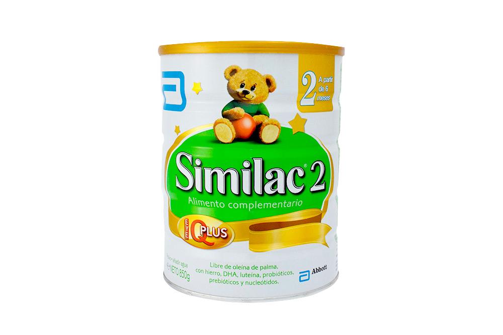 Similac 2 Lactantes De 0 a 12 Meses Tarro Con 850 g