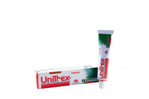 Unitrex Caja Con Tubo Con 20 g Rx