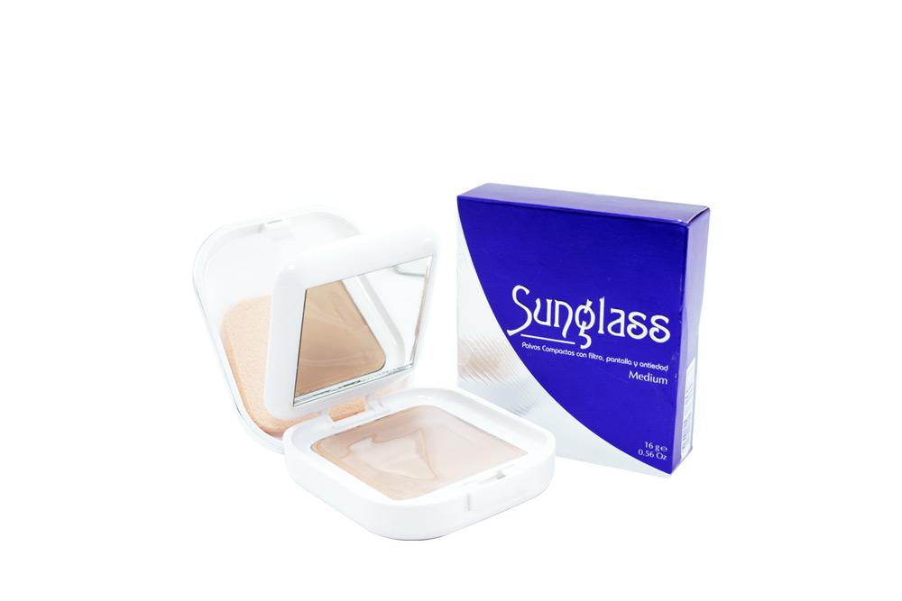 Sunglass Polvo Compacto Medium Caja Con Estuche Con 14g