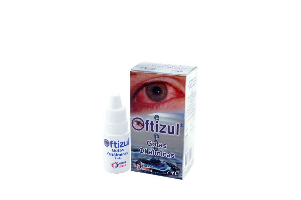 Oftizul 1 mg Caja Con Frasco Con 7 mL Rx