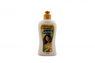 Crema Para Rizos Savital Frasco Con 270 mL – Control Volumen