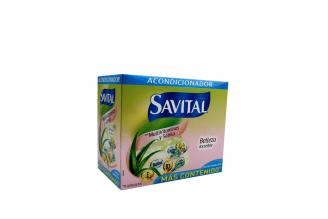 Acondicionador Savital Con Multivitaminas Caja Con 20 Sobres