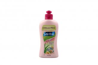 Crema Para Peinar Savital Con Biotina B3 Frasco Con 275 mL