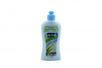 Crema Para Peinar Savital Con Biotina Frasco Con 275 mL