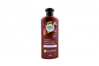 Acondicionador Herbal Essences Strength Vitamin E & Cocoa Butter Frasco Con 400 mL