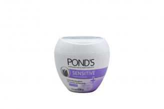 Crema Pond´s Sensitive Hipoalergenica Frasco Con 200 g